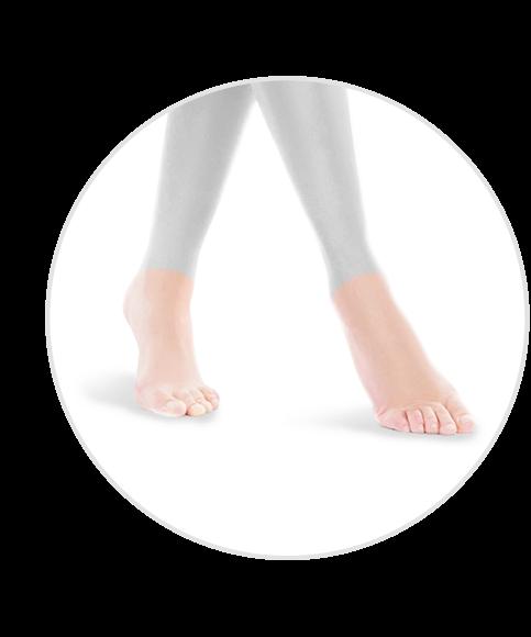 feet hair removal
