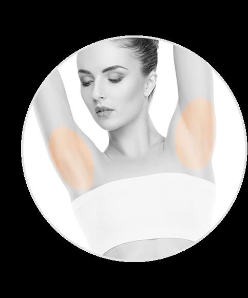 armpits hair removal