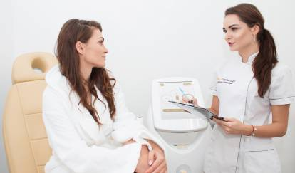 Professional laser hair removal service
