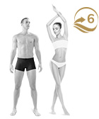 photo of man and woman multi hair removal treatment flat